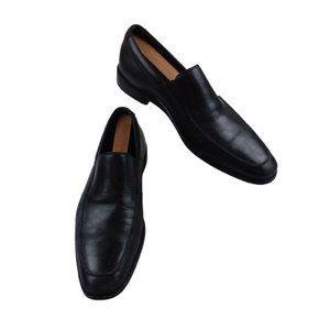 Gordon Rush 11 Cole Loafers Slip On Apron Toe Blk
